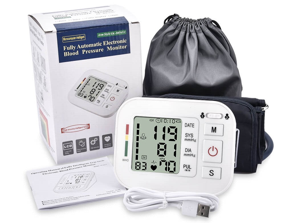 what is the most accurate blood pressure monitor package