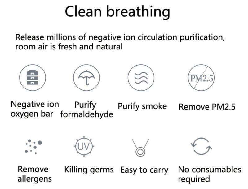 benefit of ion purifier