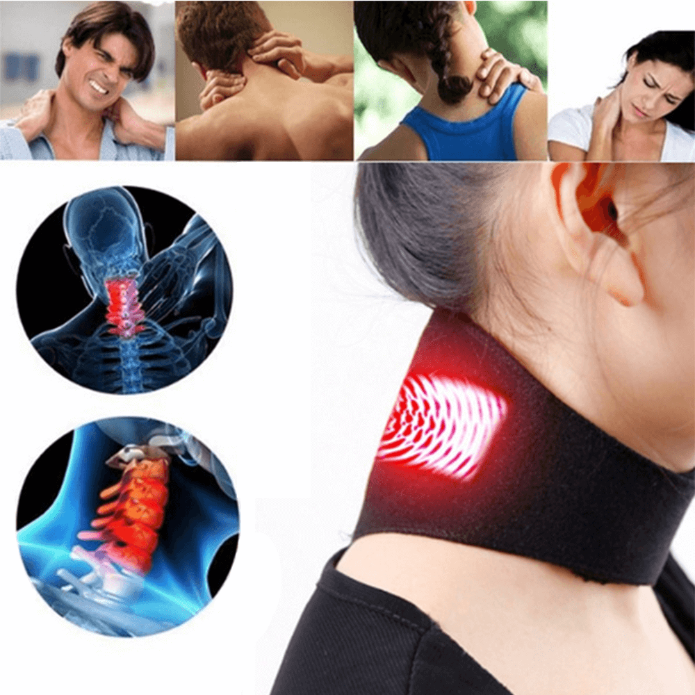 Magnetic Tourmaline Thermal Self Heating Neck Pad Instructions