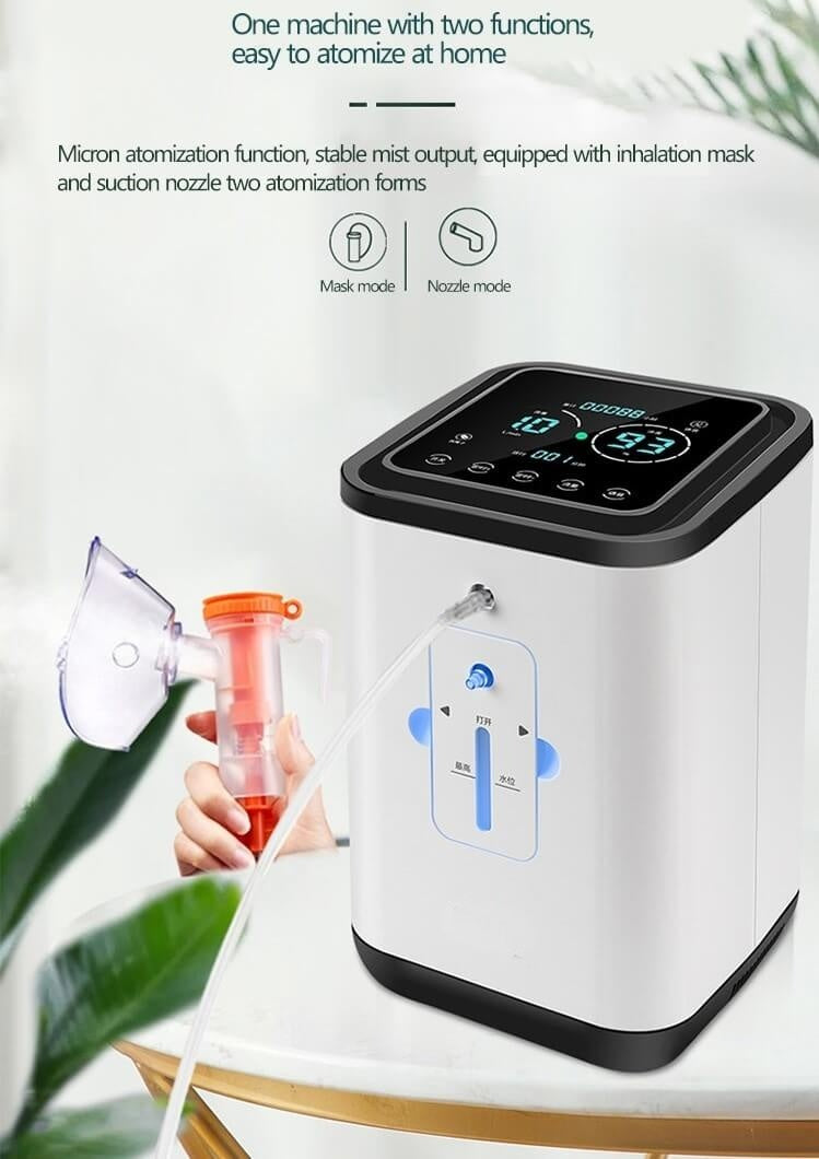 How Do Portable Oxygen Concentrators Work