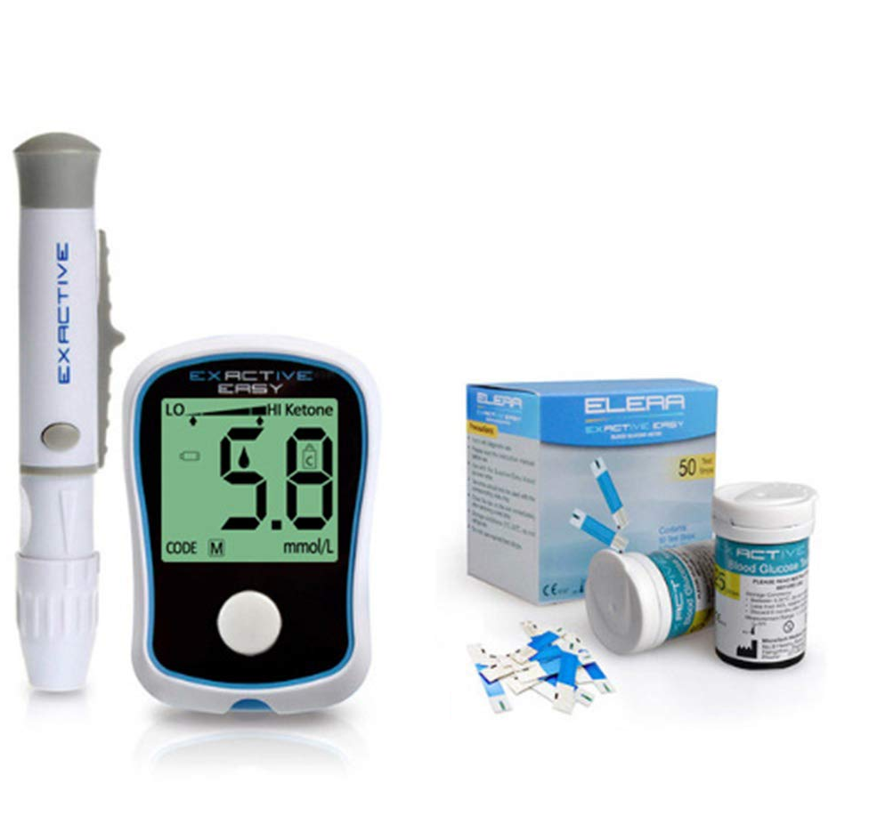 Blood Glucose Meter Device With 50 Strips