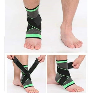 3D Weaving Ankle Compression
