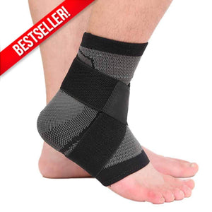 3D Weaving Technology Ankle Brace Protector Black