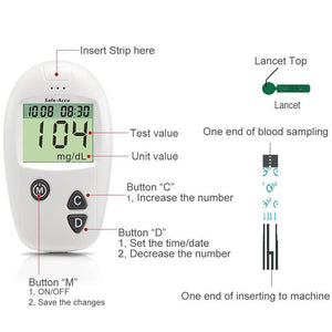 Accurate All-In-One Glucose Meter