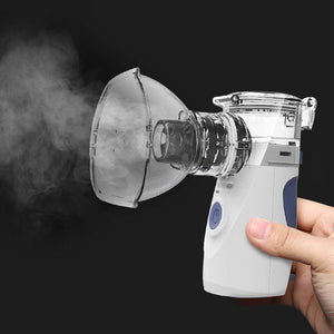 2019 Mini Personal Cool Mist Inhaler Handheld Portable Home Use for Adults Kids