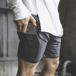 How Secure Pocket Fitness Shorts Looks Like