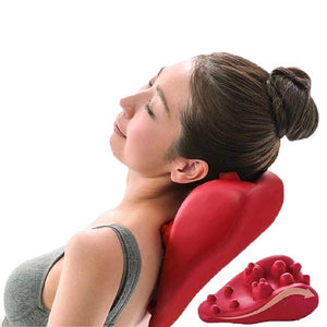 How To Use Japanese Style Shiatsu Spinal Neck Back Cervical Pillow