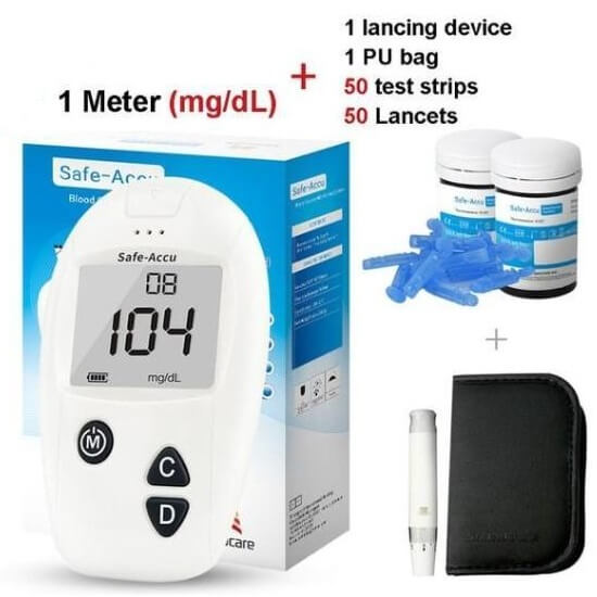 Buy 50 Test Strips Glucometer
