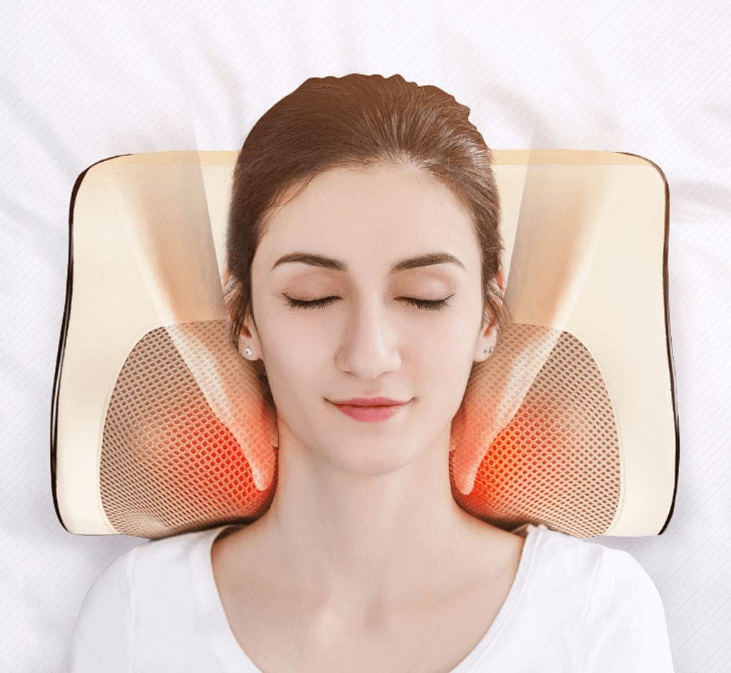 Buy Infrared Heating 3D Neck and Body Massage Pillow Online