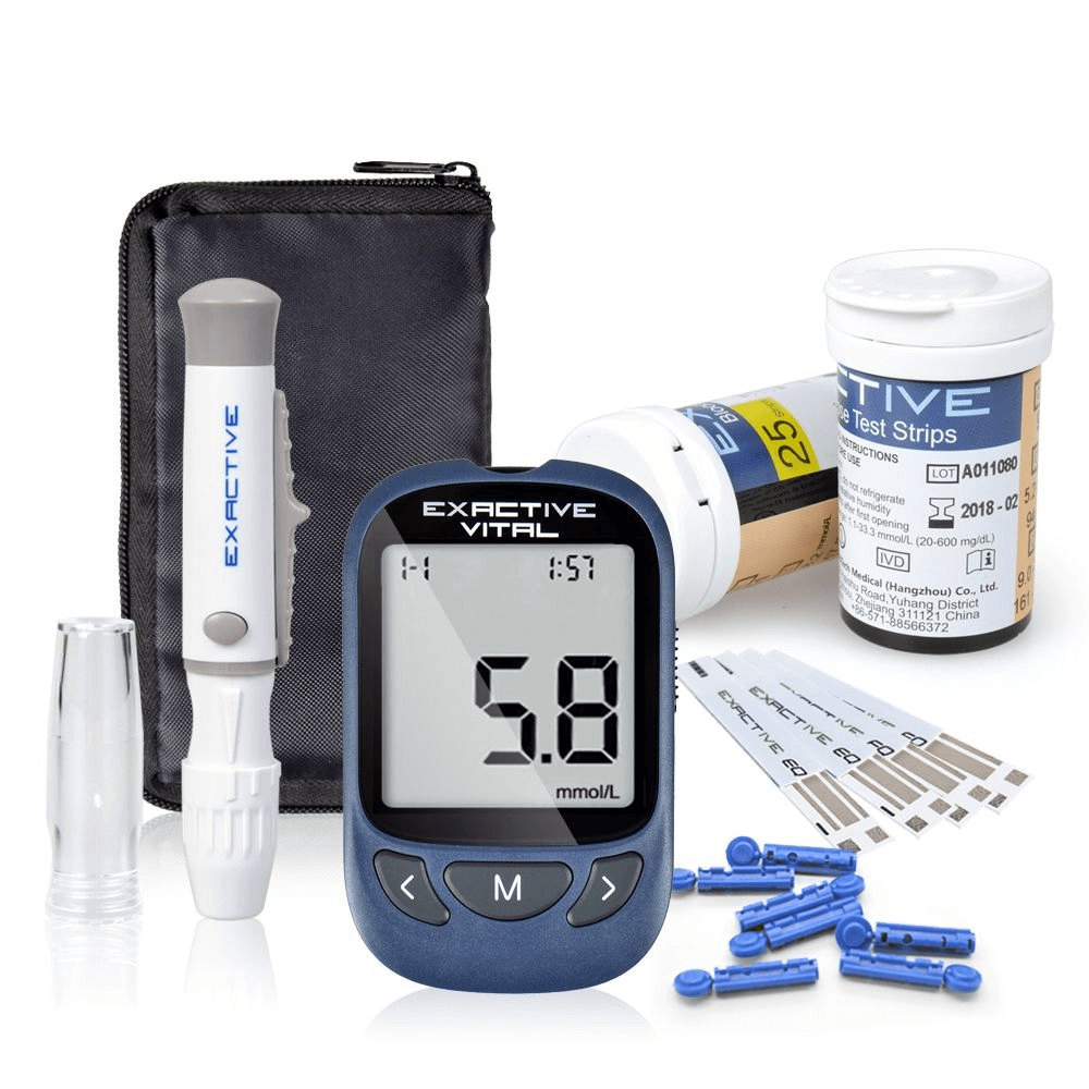 Glucometer With 500 Sets Data