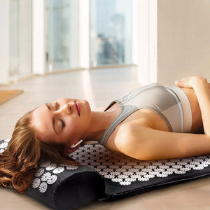 Yoga Mat For Relieves Stress Back Neck Sciatica Pain Relaxation