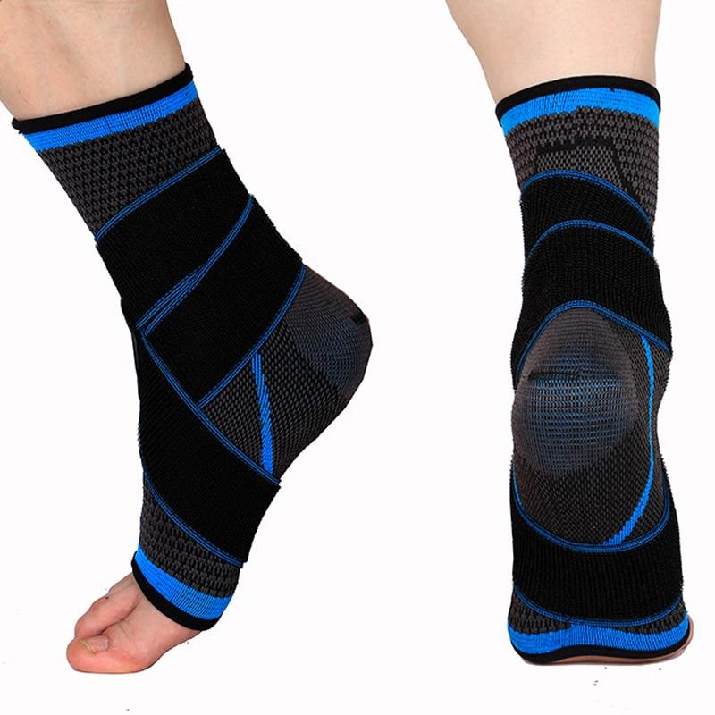 Ankle Brace Compression Wrap Bandage Adjustable