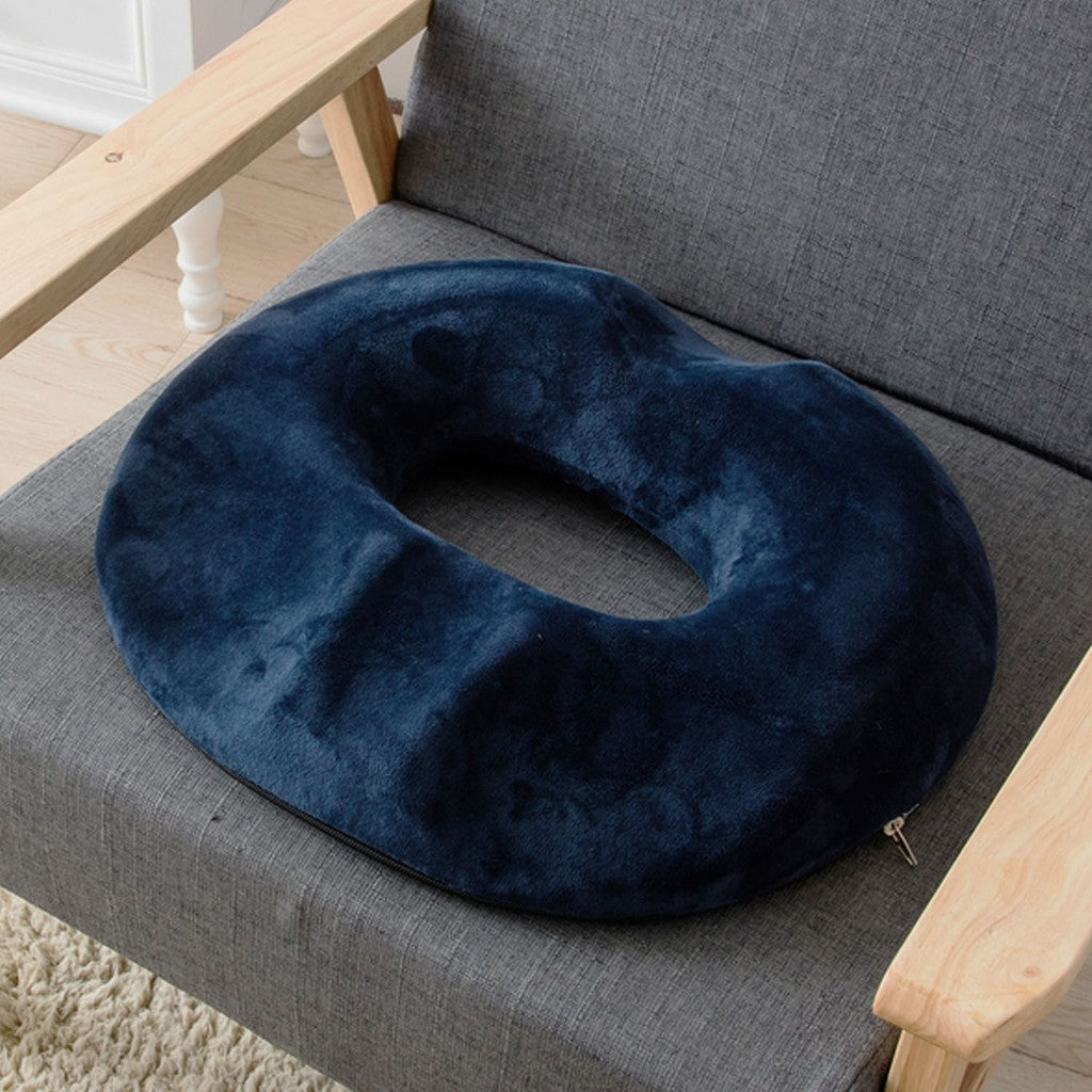 Donut tailbone pillow hemorrhoid cushion