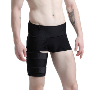 Groin Support - Brace For Strain Or Muscle Pull Injury