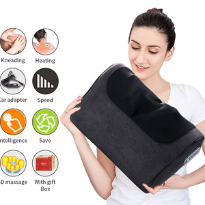 Is Infrared Heating 3D Neck and Body Massage Pillow Effective