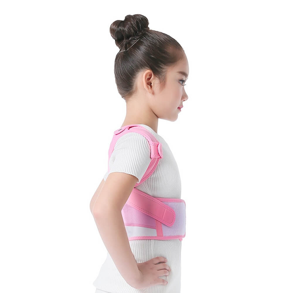 Adjustable Back Posture Corrector Side