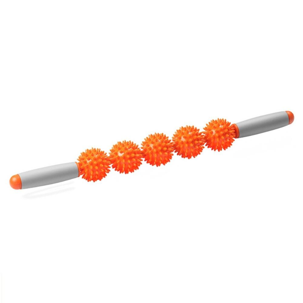 5 Pressure Spiky Ball Massage Muscle Therapy Stick
