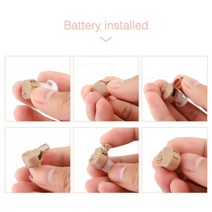 Portable Mini Adjustable Tone Hearing Aids