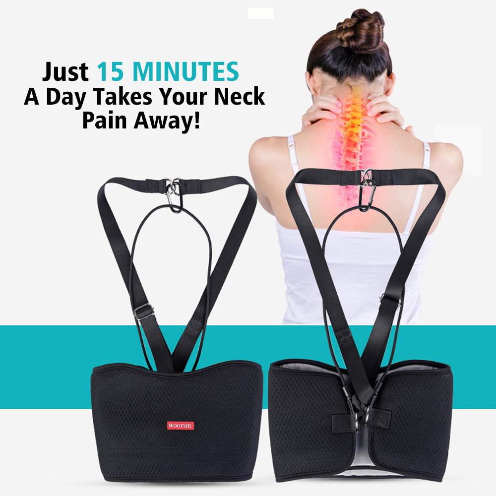 Hammock Cervical Traction Device Muscle Massage Stretcher