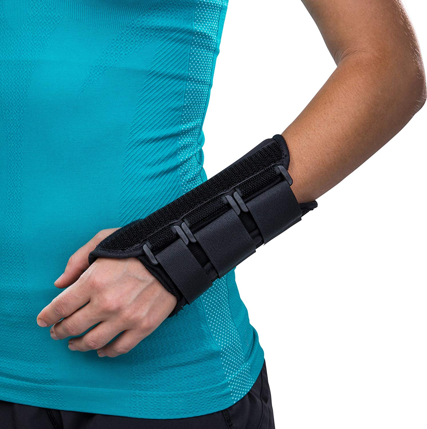 Thumb And Wrist Wrap With Adjustable Straps