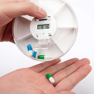DIY Digital Small Pocket Pill Organizer Timer