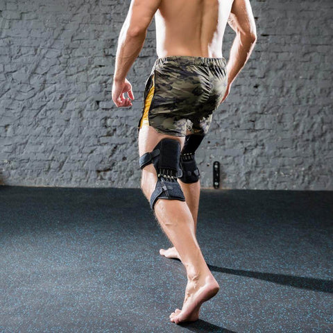 Buy Power Leg Spring Iron Knee Guard for Sports and Works and Daily Life