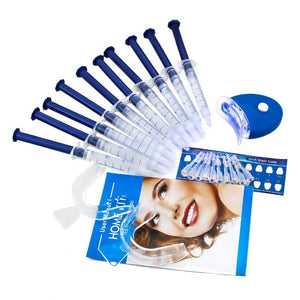Teeth Whitening Oral Gel Polish Pen Kits with White Accelerator LED Light On Sale