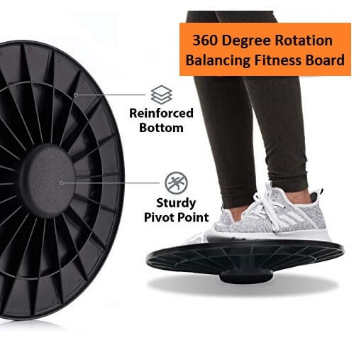 Twist Exercise Board 360 Degree Rotation Balance Waist Exerciser