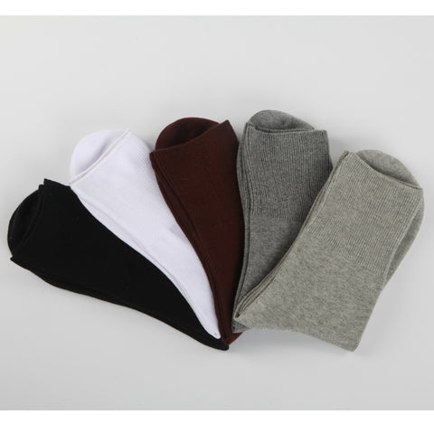 5 Pairs Lot Mens Comfort Diabetic Socks