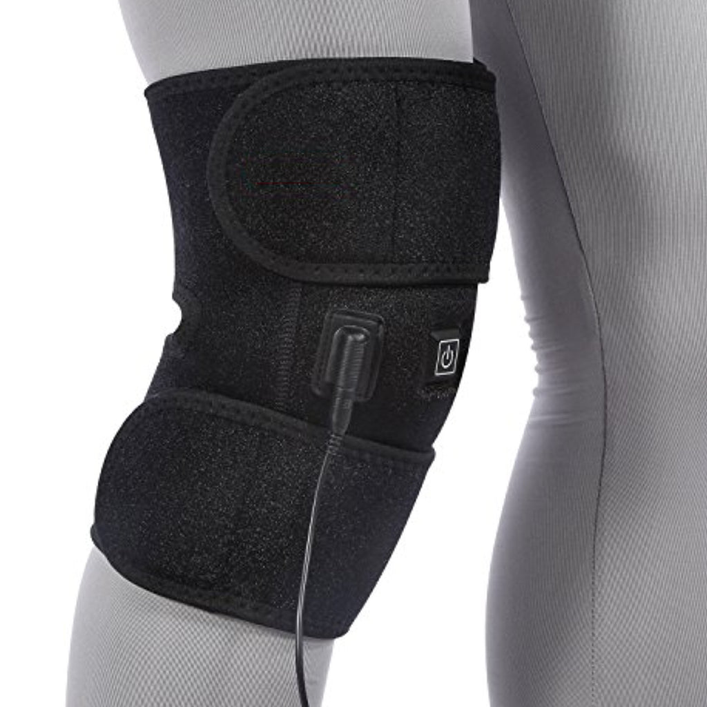 can heated knee braces help tendontis