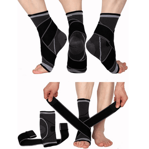 Ankle Support Foot Compression Wrap Bandage Brace