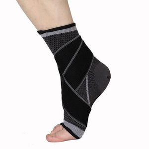 Ankle Brace - Ankle Support With Adjustable Compression Wrap For Men and Women