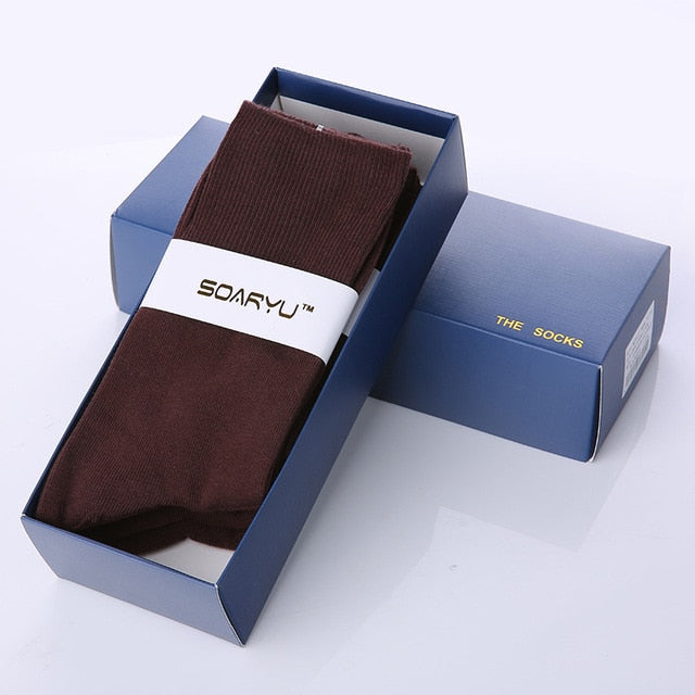 Men Diabetic Cotton Office Work Socks