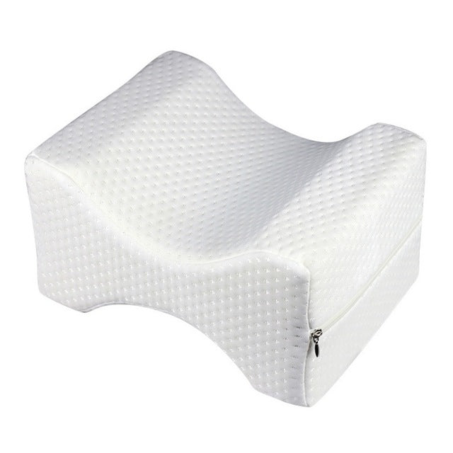 White Knee Wedge Leg Pillow
