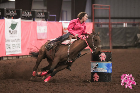 Sonya DeHaven Barrel Racing