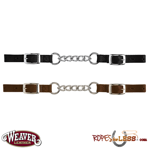 Weaver Heavy-Duty Nylon Curb Strap with Single Link Chain
