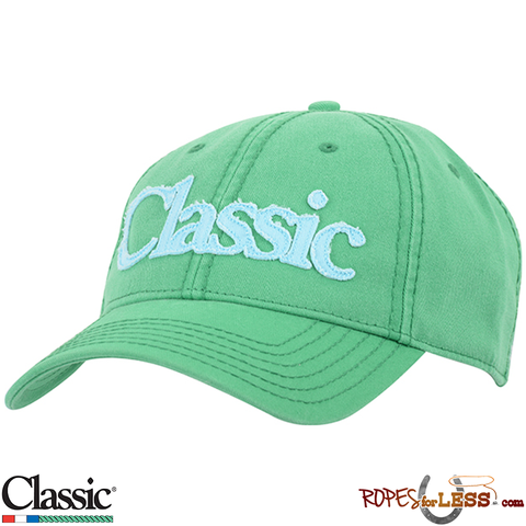 Classic Ropes Cap Womens' Green/Blue