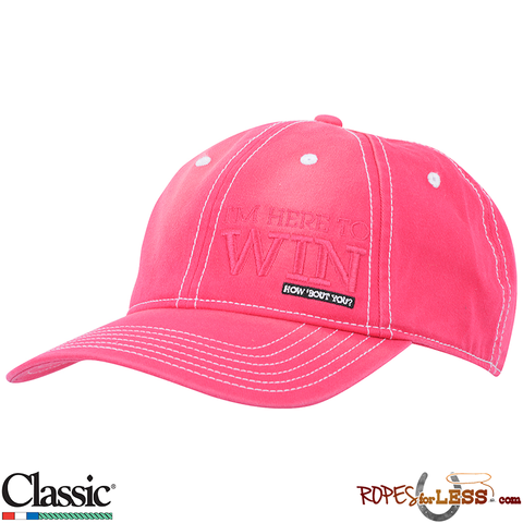Classic Ropes Cap Womens' Pink