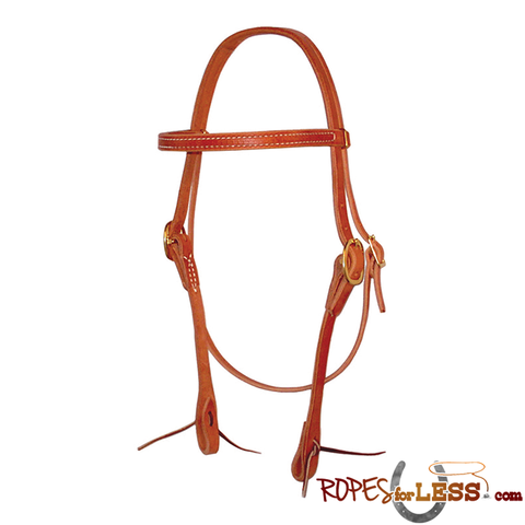 Berlin Straight Browband Headstall with Tie