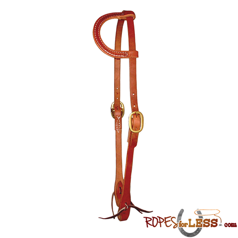Berlin Sliding One-Ear Headstall with Tie