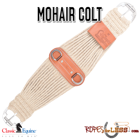 Classic Equine 100% Mohair Colt Cinch