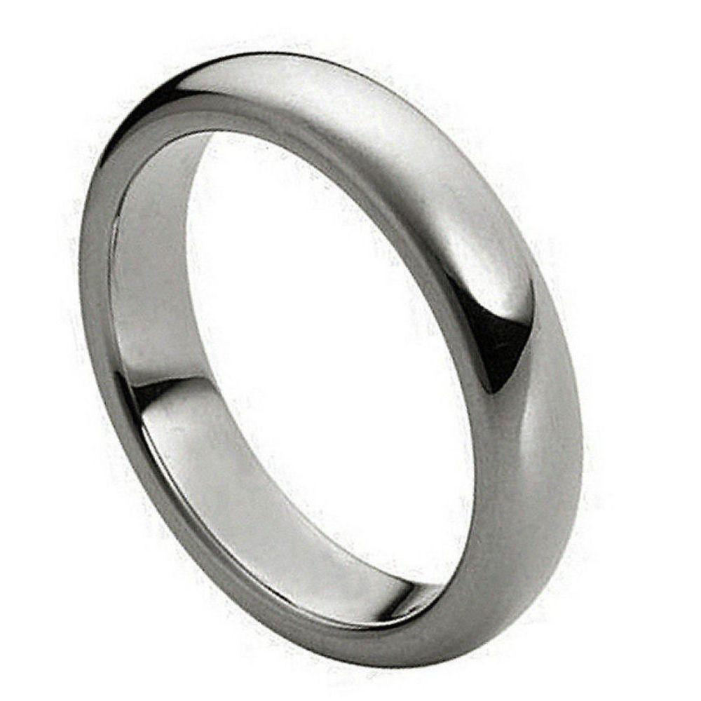 Polished Shiny Domed Ring - 4mm