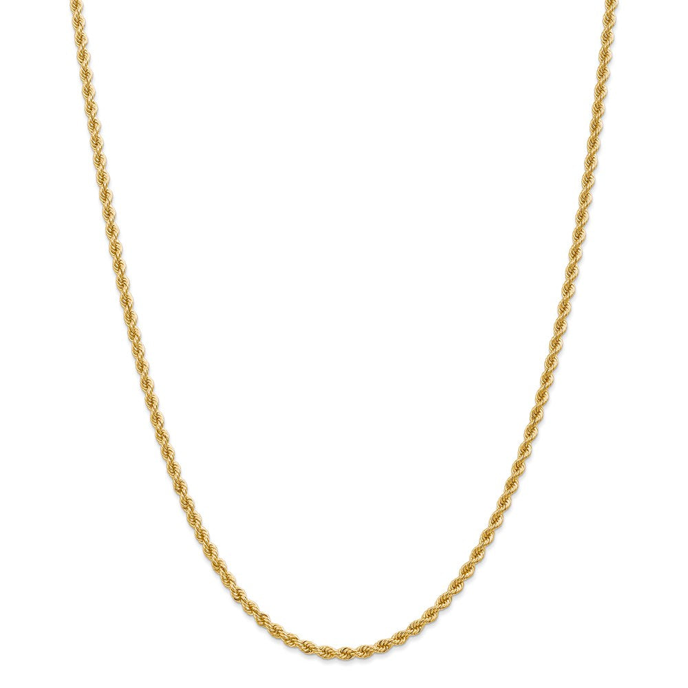 14K 2.75mm Classic Rope Chain