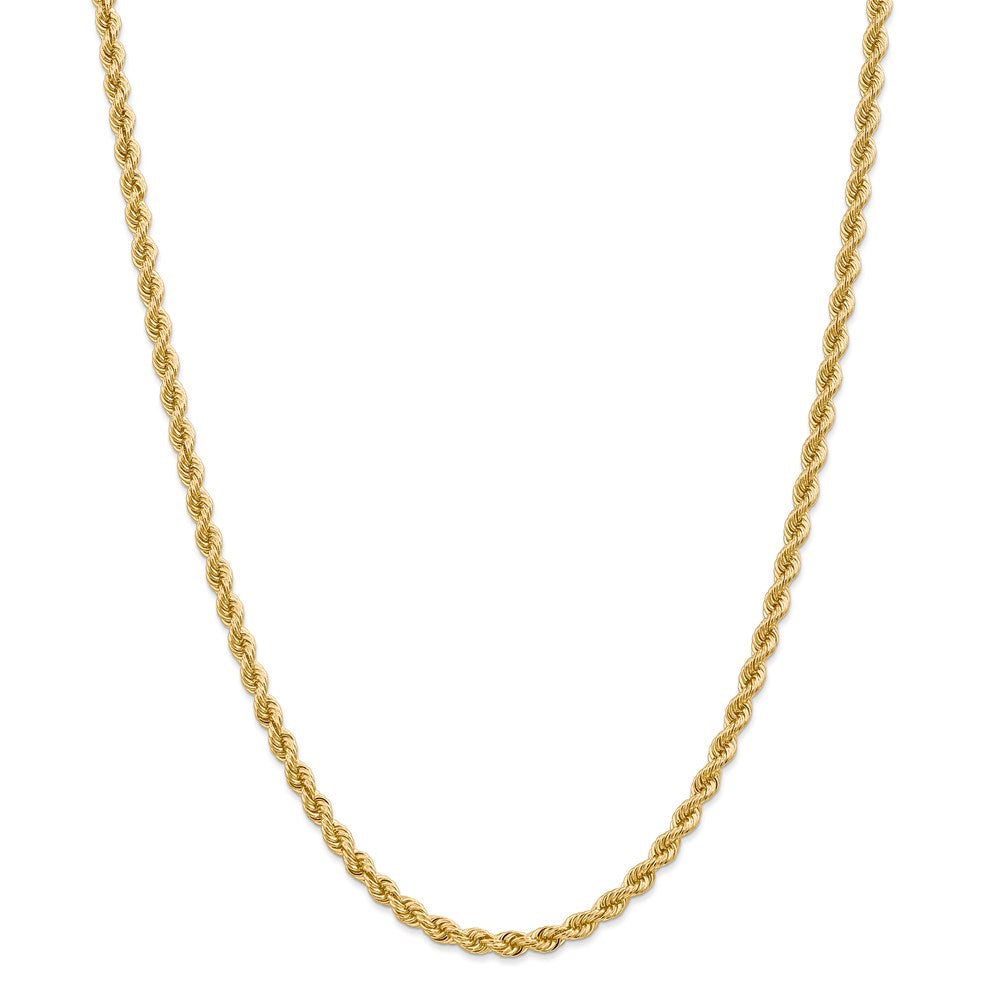 14k 4mm Classic Rope Chain