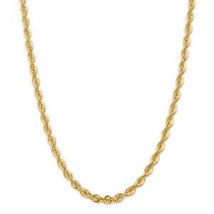 14k 6mm Classic Rope Chain