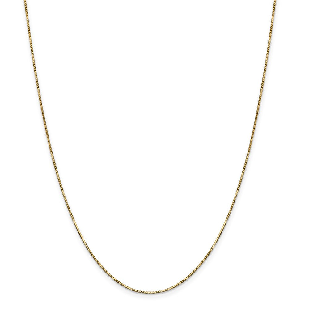 14k .90mm Box Chain