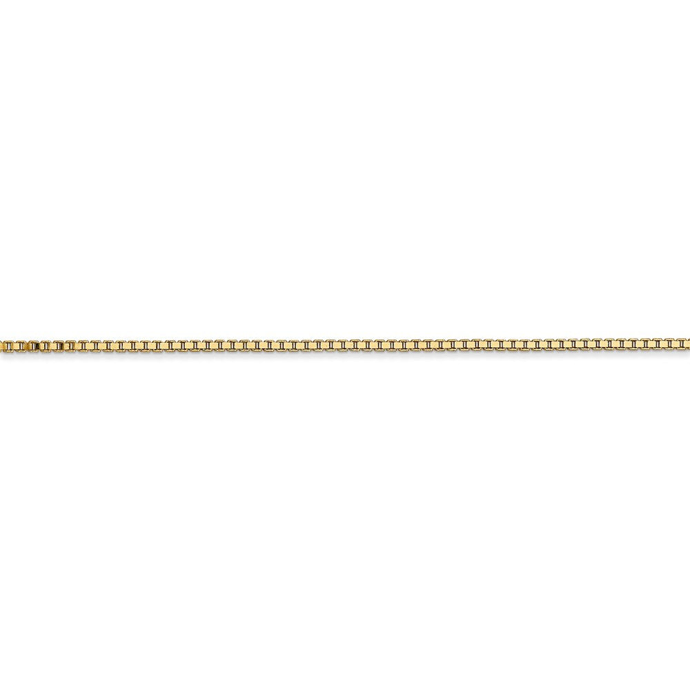 14k 1.3mm Box Chain