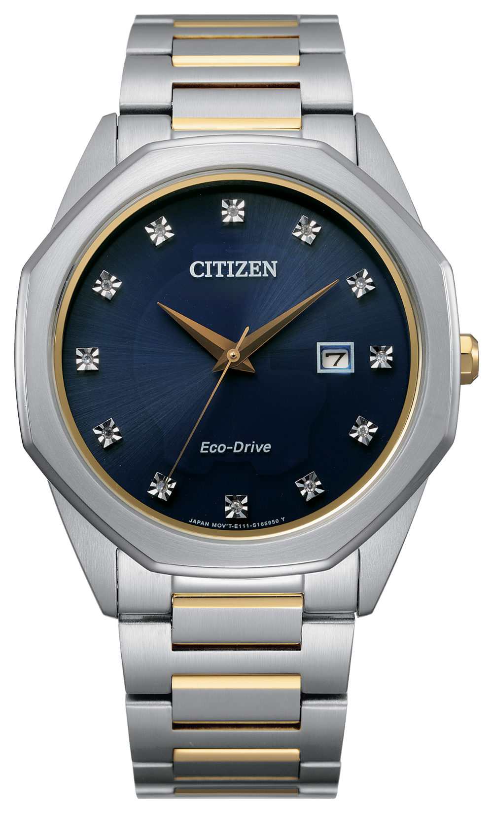 Corso Gold Trim - Citizen Eco Drive