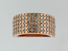 Load image into Gallery viewer, Diamond Band, 14k Rose Gold - Le Vive Jewelry in Riverside