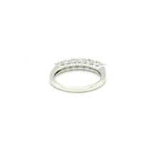 Load image into Gallery viewer, 14K White Gold 7 Diamond Band by Artcarved - BRI01318
